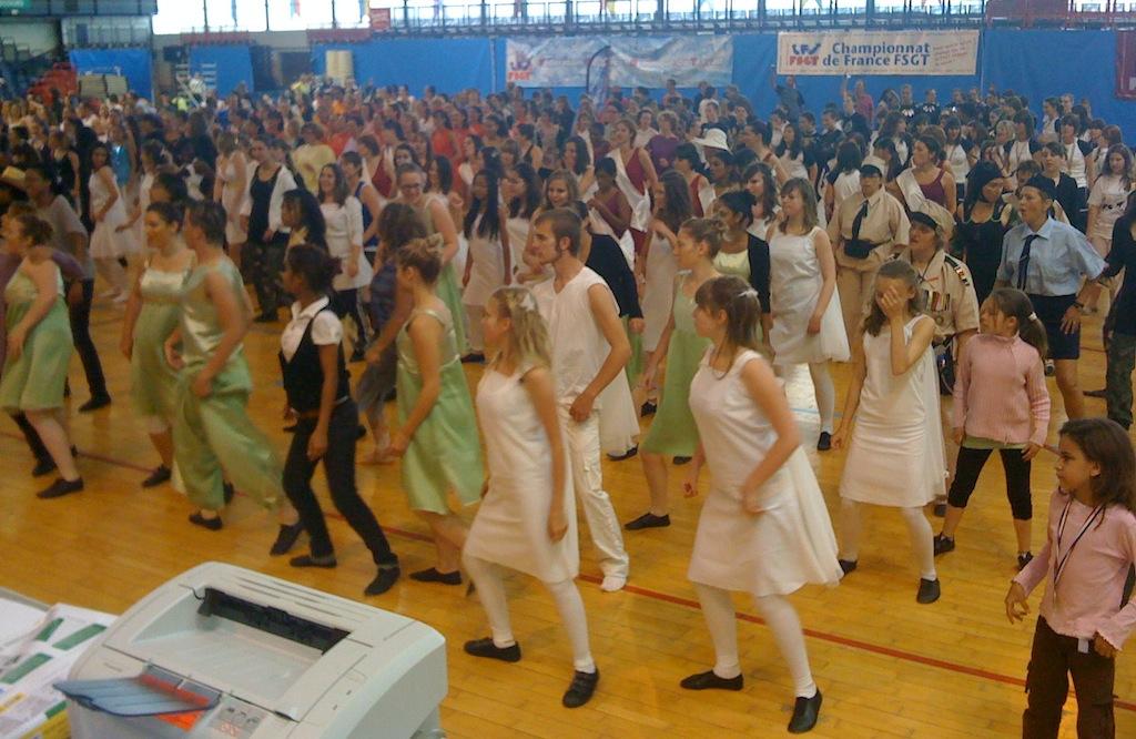 Sonorisation de Gymnase pour championnat de danse