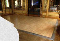Piste de danse au musée Baccarat